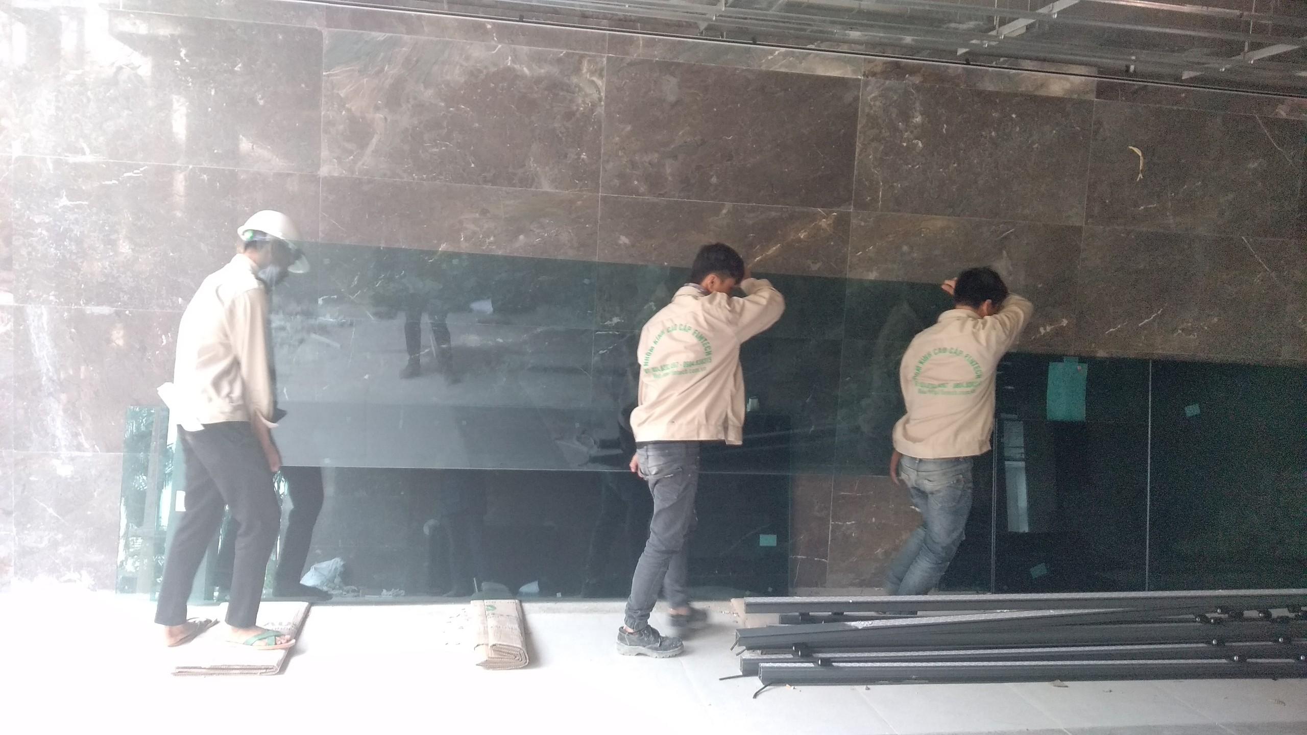 Thi công mặt dựng nhôm kính tại Hà Nội