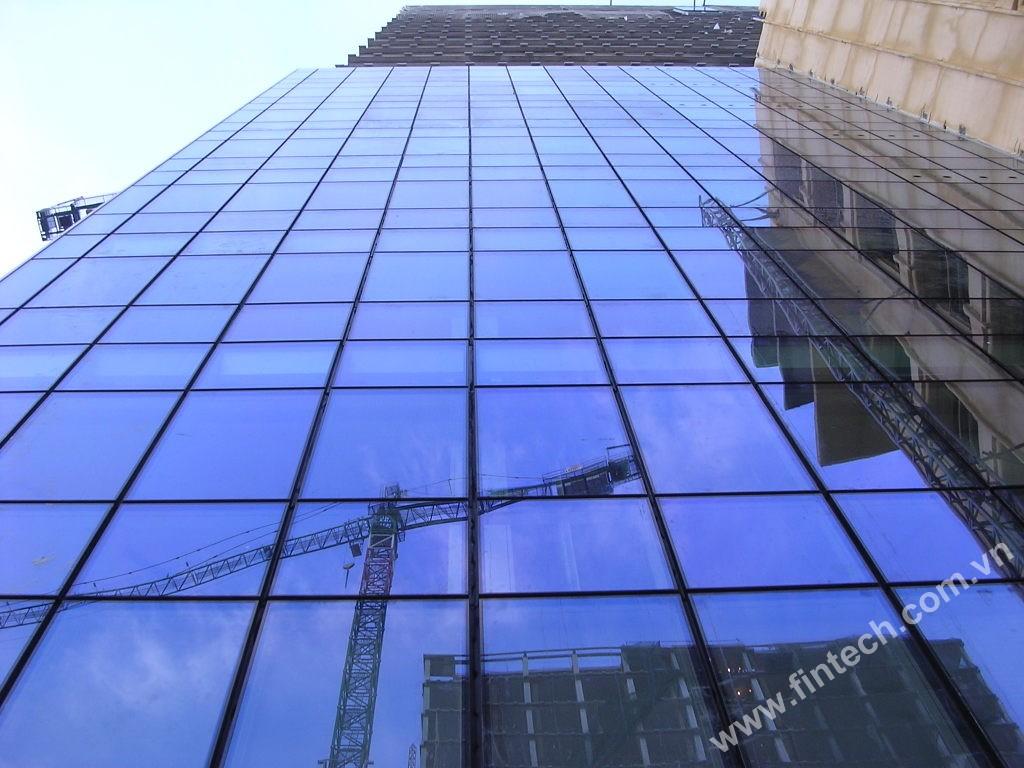 Hệ mặt dựng kính Glass curtain wall