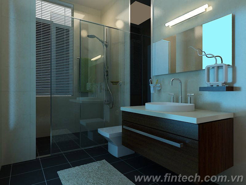 cabin phòng tắm kính