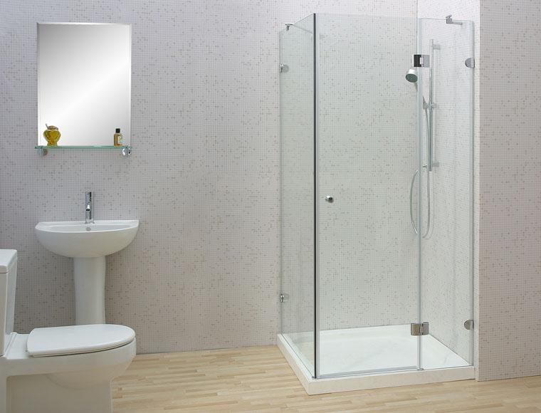 Bí quyết chọn cửa kính cường lực cho nhà tắm 1