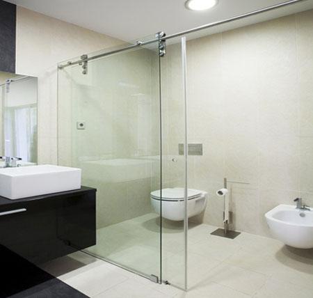 Bí quyết chọn cửa kính cường lực cho nhà tắm 3
