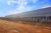 Lắp đặt lam chắn nắng cao cấp nhà máy Universal