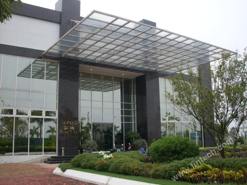 Mái sảnh kính cao cấp