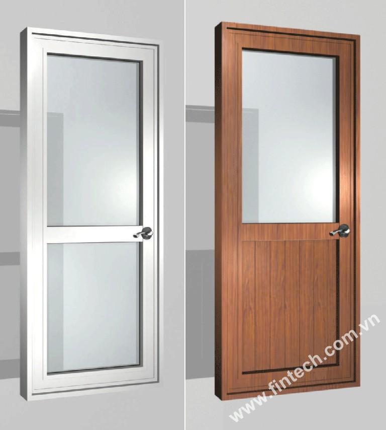 Hệ cửa đi nhôm kính Fintech