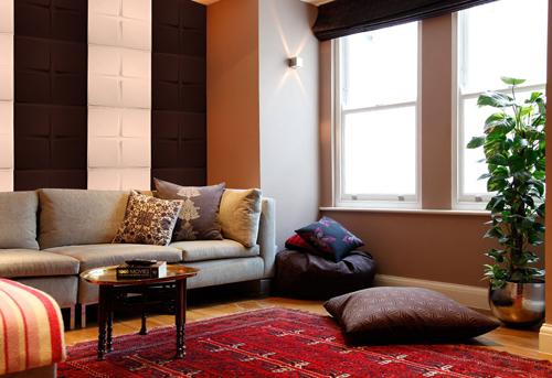 """""""Bất ngờ"""" cách trang trí nội thất với tấm ốp tường 3D5"""