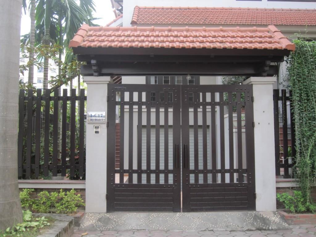 Những mẫu cửa cổng đẹp cho nhà thêm sang2