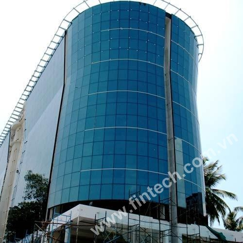 Báo giá mặt dựng nhôm kính tại công ty Cổ phần Đầu tư Xây Dựng Fintech 4