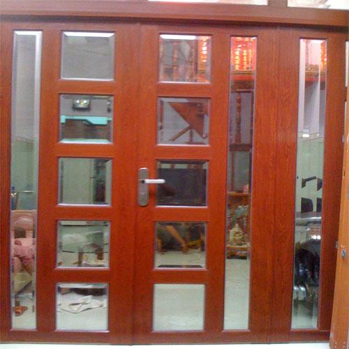 Vì sao nên chọn cửa nhôm kính vân gỗ?1