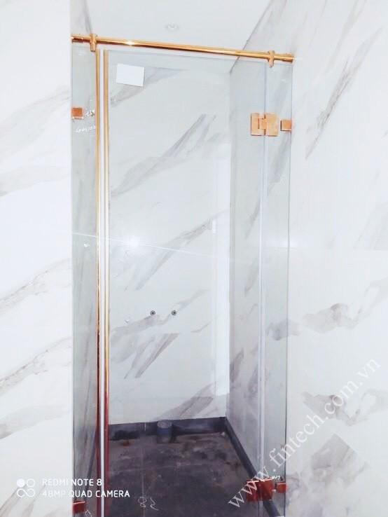 Cabin tắm VIP loại nhỏ sau khi lắp đặt hoàn thiện