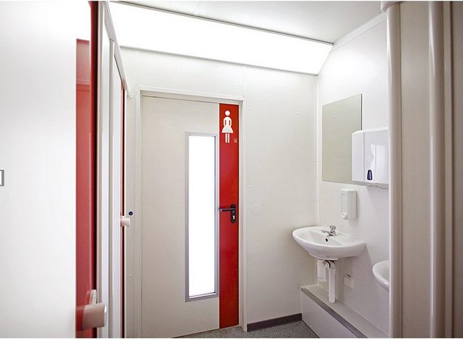 cửa nhôm kính cho toilet