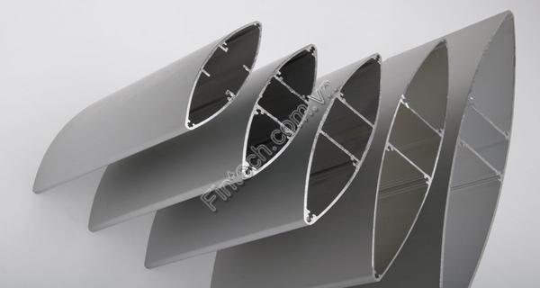 Hình ảnh thực tế cấu tạo Lam chắn nắng hình thoi