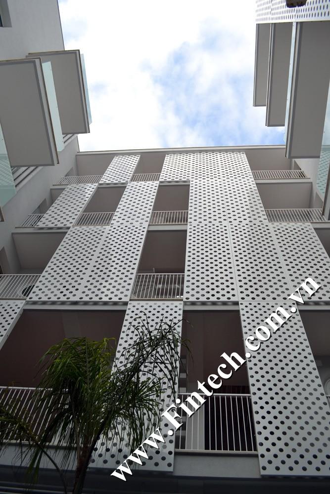 Lam chắn nắng CNC trang trí chung cư mini 1