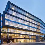 Vách kính cường lực xu hướng mới của các tòa nhà văn phòng