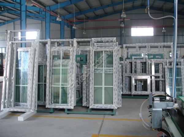Xưởng sản xuất khung cửa nhôm